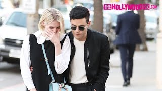 Rami Malek Takes His Girlfriend Lucy Boynton Out Shopping On Rodeo Drive In Beverly Hills 11.14.18