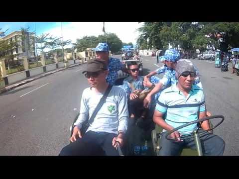Tour Jeep Padang City ( Parade Bela Negara )