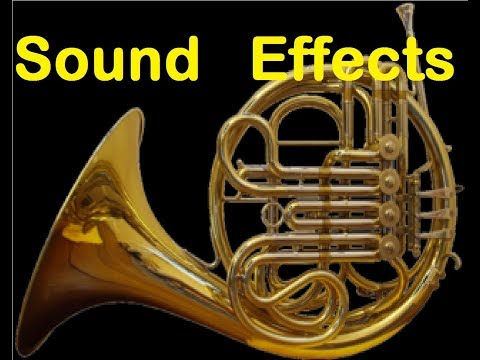 Horn Sound Effects All Sounds