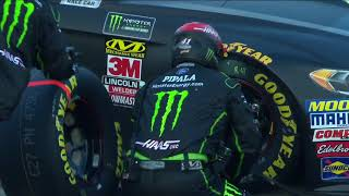 Busch'S Helmet Cam Captures Full Speed On Pit Road