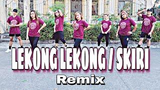 LEKONG LEKONG / SKIRI ( Dj Rowel Remix ) - Tiktok Remix  Dance Fitness  Zumba