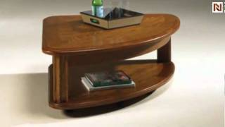 Lift-top Wedge Cocktail Table Fremont T90203-00 By Hammary Furniture
