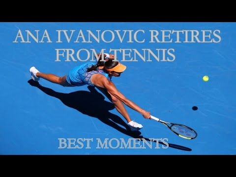 AJDE ANA | Ana Ivanovic Retired from Tennis (BEST POINTS) | Ana Ivanovic se retira del tenis