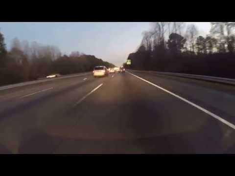 Hayabusa ride from Atlanta to Warner Robins pt1