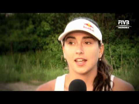 Interview with Carolina Solberg Salgado at the Myslowice Open 2011, 17.05.2011