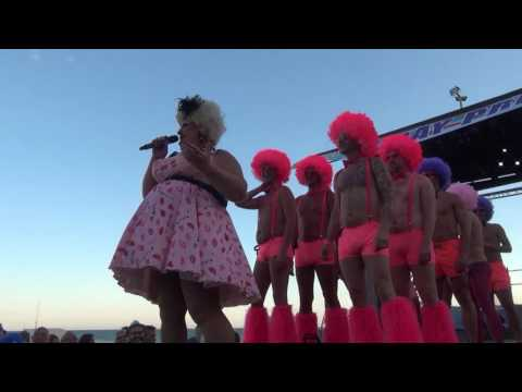 Gay Pride Sitges 2016 The Gay Village with Lady Diamond 16th June 2016 part 1
