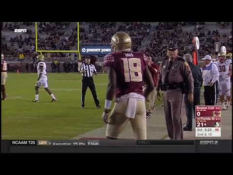 Boston College Eagles at Florida State Seminoles in 30 Minutes - 11/11/16