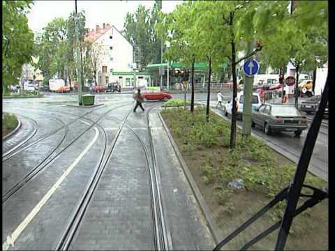 Straßenbahnfahrten durch Frankfurt - Linie 14 (Mitte 90er)