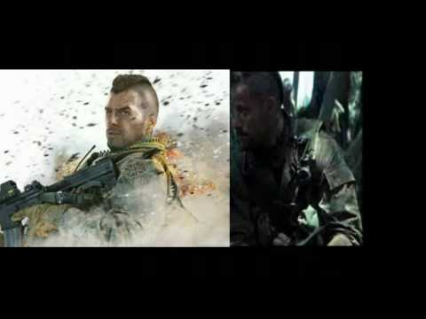 Modern warfare 2, Cpt. 'Soap' MacTavish  is Johnny Messner from tears of the sun