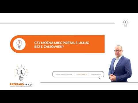 Czy Można Mieć Portal E-Usług (platformę Zakupową) Bez Portalu E-Zamówienia?