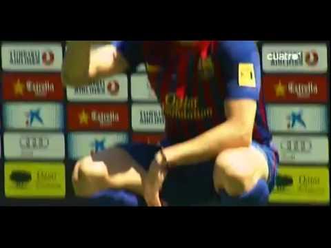 Presentación completa de Cesc Fabregas en el Barcelona - 15.08.2011