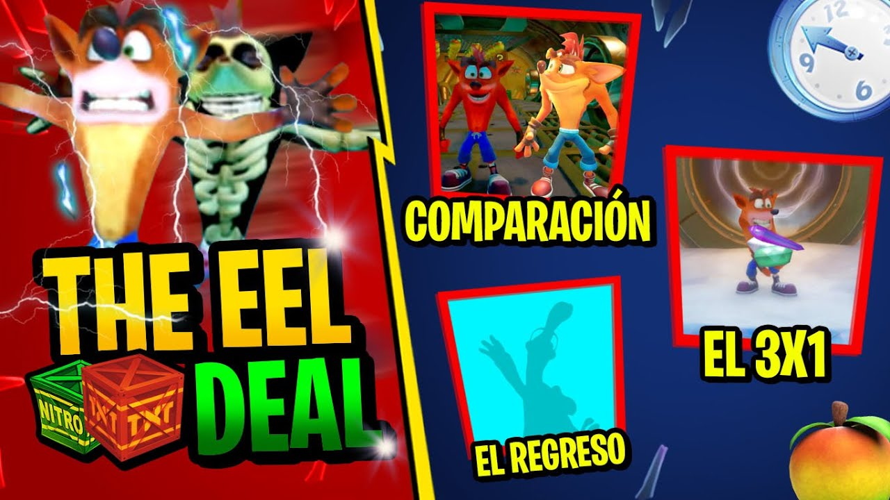 CRASH BANDICOOT THE EEL DEAL | ROAD TO CRASH BANDICOOT 4 ITS ABOUT TIME