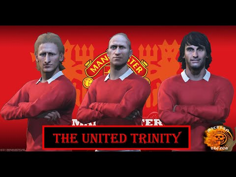 The United Trinity (Bobby Charlton, George Best, Denis Law) Face For PES 2019/2018