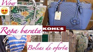 ROPA BARATA,BOLSAS EN OFERTA EN KOHL'S /COMPRAS 2019 DE DESCUENTO Y MARCAS