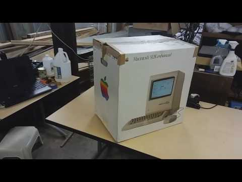Unboxing of Four Vintage Macintosh Computers