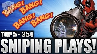 Destiny: Brutal Snipes!! Top 5 Sniping Plays Of The Week / Episode 354