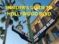 Three Must Do's on | Hollywood Blvd, CA