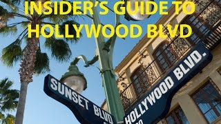 Three Must Do's on | Hollywood Blvd