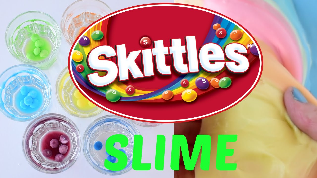 Diy how to make your own skittles rainbow color slime video youtube diy how to make your own skittles rainbow color slime video ccuart Image collections