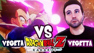 DRAGON BALL Z: KAKAROT ( VEGETTA vs VEGETTA777) #2
