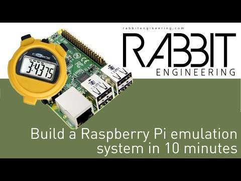 Build a Raspberry Pi emulation system in 10 minutes!