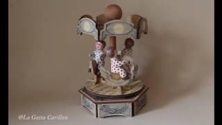 Carillon per bambini e neonati, giostra Carillon Bimbetti (Melodia: TRISTESSE - F. F. Chopin)