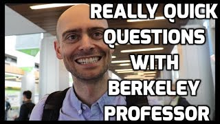 Pieter Abbeel - Really Quick Questions with a Berkeley Professor