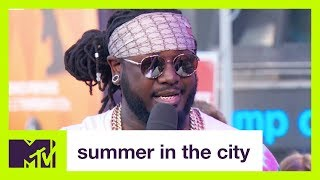 T-Pain On His Favorite TRL Moment | Summer in the City | MTV