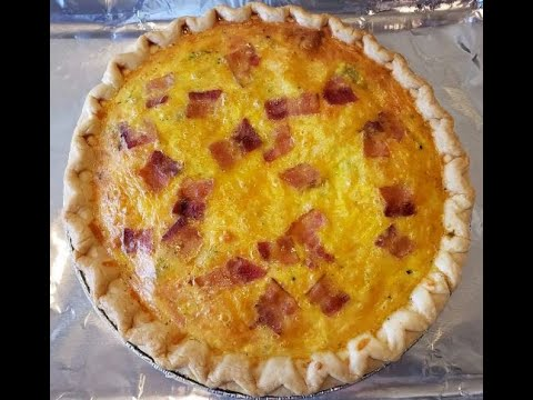 How to make BROCCOLI AND BACON QUICHE Recipe