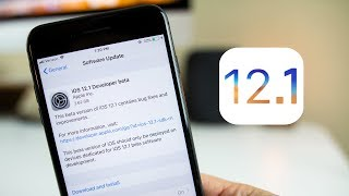 iOS 12.1 Beta 1 Released - What