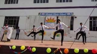 best bhangra by +2 class of British Olivia School part one