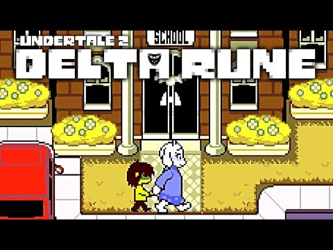 """IT'S ACTUALLY REALLY HERE!! Toby Fox's Newest Undertale """"Delta Rune"""" Chapter 1 True Pacifist Route"""