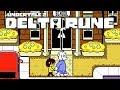 "IT'S ACTUALLY REALLY HERE!! Toby Fox's Newest Undertale ""Delta Rune"" Chapter 1 True Pacifist Route"