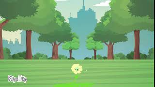 My first animation! (Flower growing)