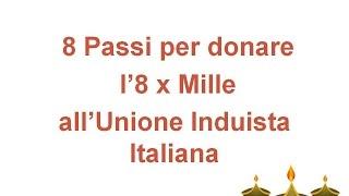 8 Passi per donare l'8 x Mille all'Unione Induista Italiana [punjabi]