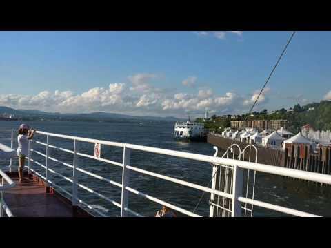 Lévis - Québec  Traverse Ferry