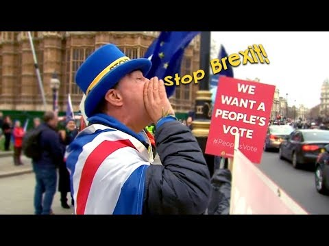 'Stop Brexit!' - one man's daily protest against UK-EU divorce