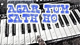 agar-tum-sath-ho-very-easy-piano-tutorial