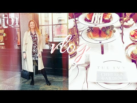 Lunch At The Ivy Chelsea Garden | May Days #1 | Frankie Amelia