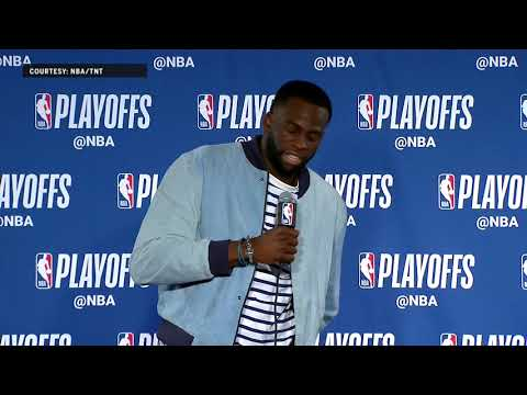 Draymond Green says a few words to Gregg Popovich | Warriors Eliminate Spurs