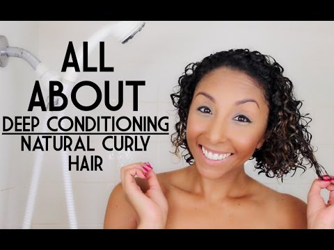 All About Deep Conditioning Naturally Curly Hair; Hair Growth Journey| BiancaReneeToday