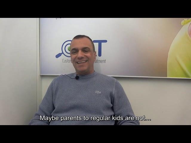 Testimonial: father of a 6-year-old boy (English Subtitles)