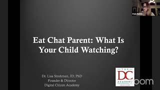 Eat Chat Parent - What is Your Child Watching Online?