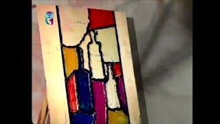 Уроки живописи # 37. Рисуем витраж