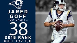 #38: Jared Goff (QB, Rams) | Top 100 Players of 2018 | NFL