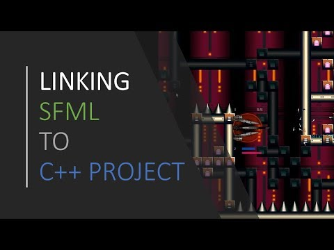 [ C++ & SFML - Simple 2D Games ] - Linking SFML and general information thumbnail