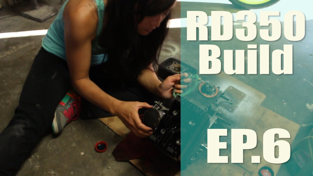 Putting the Yamaha RD350 Crank Case Together | Ep  6