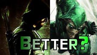 Was Sind Die Unterschiede Zwischen Comic-Pfeil-Und CW-Pfeil?