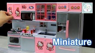Hello kitty Miniature kitchen …