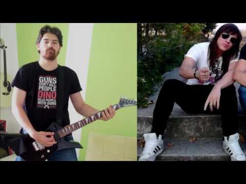 Through glass - Stone Sour ( Metal Cover by Dino feat. Alexandros Pavlidis)